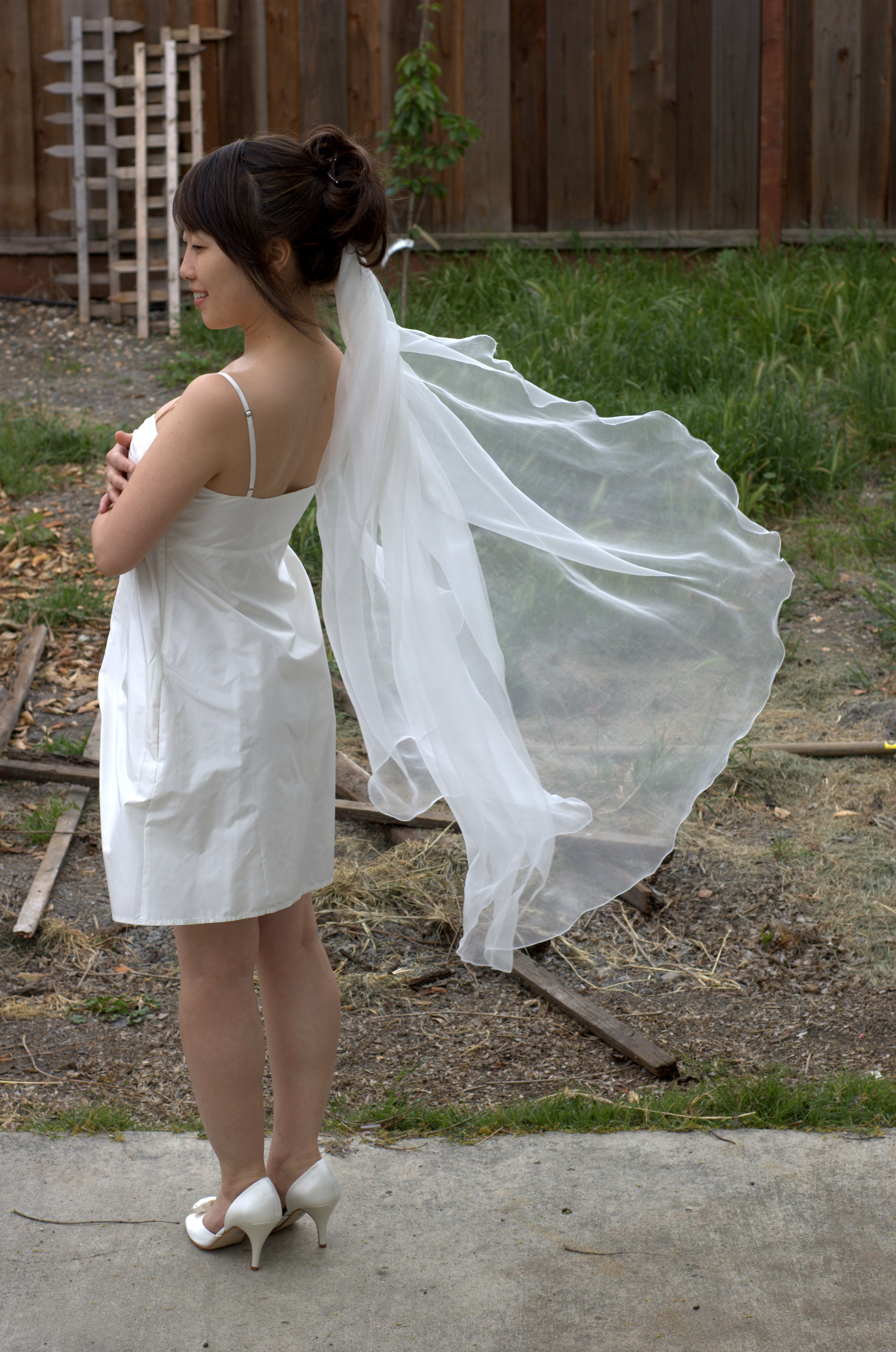 Diy Wedding Veil.Semi Diy Wedding Veil Petite Republic