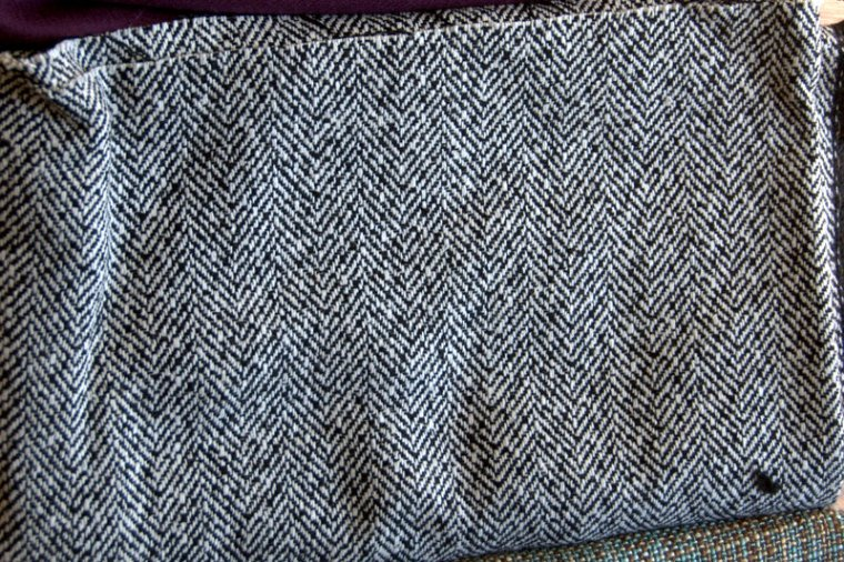 fabric 4 striped gray