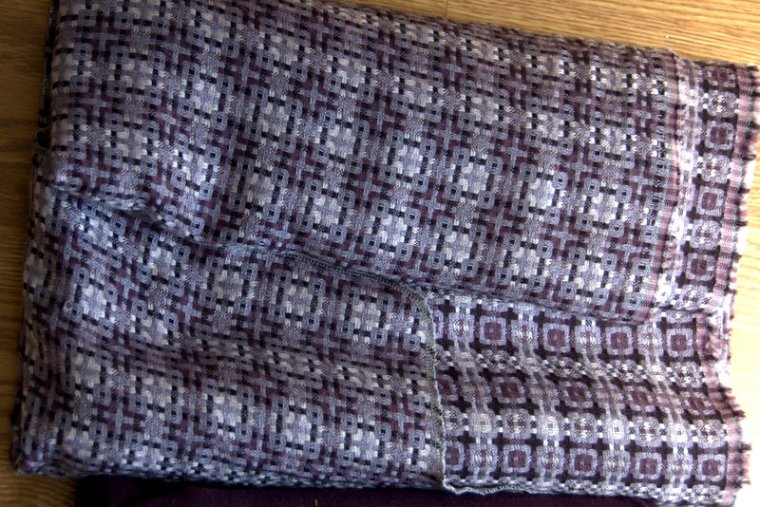 fabric 1 purple squares