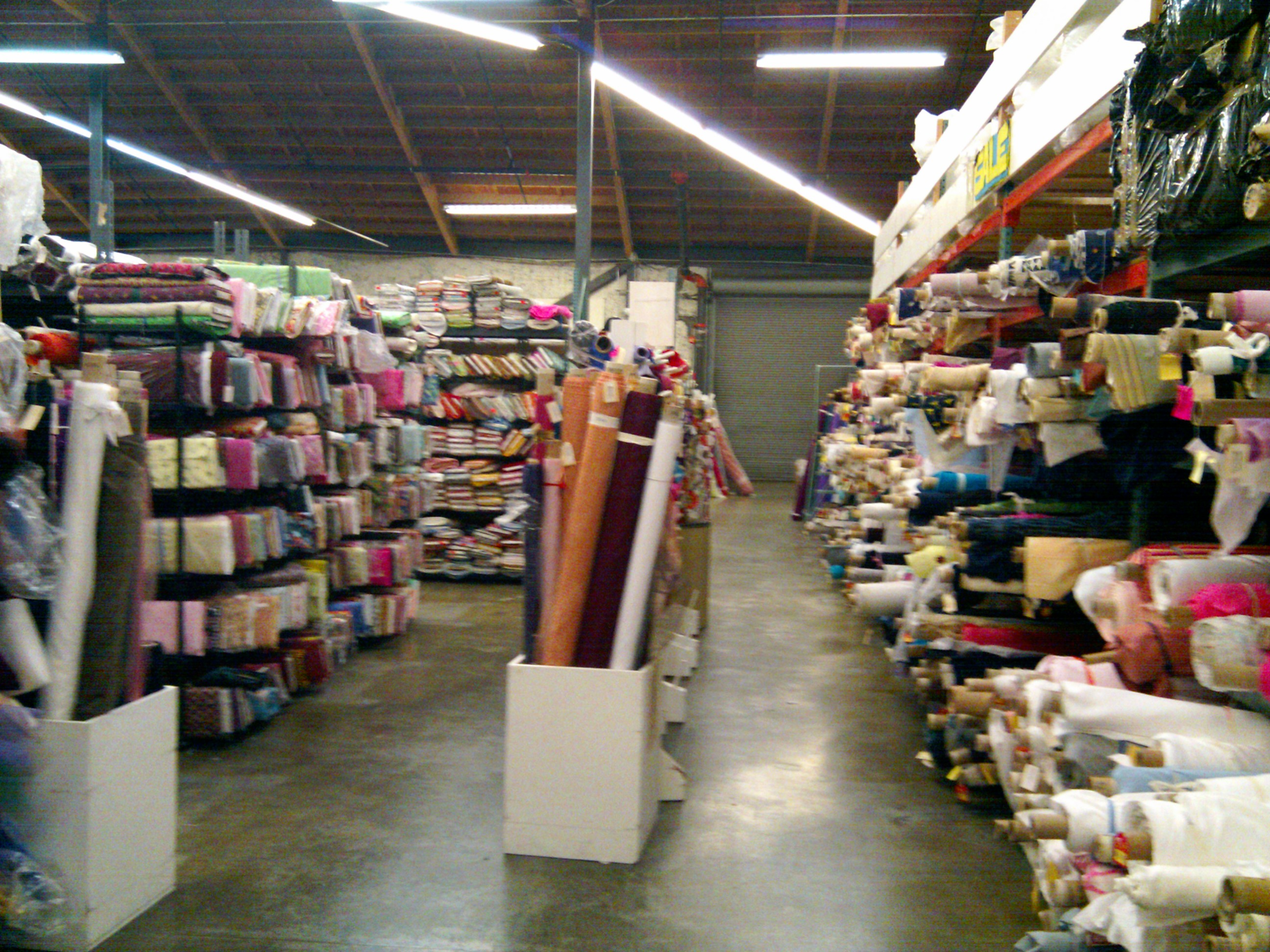 Fabric Shopping in SF | Petite Republic